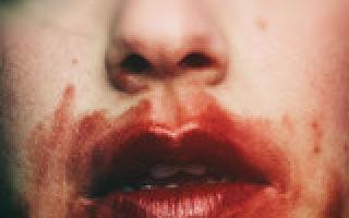 Главные признаки легочного кровотечения, алгоритм первой неотложной помощи