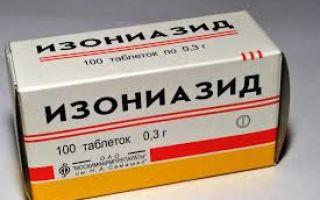 Таблетки изониазида при туберкулезе: инструкция по применению, лечение отравления
