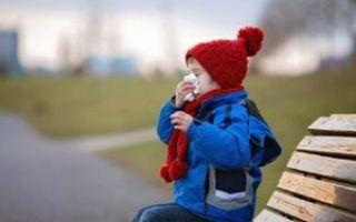Можно ли гулять при бронхите на улице с ребёнком