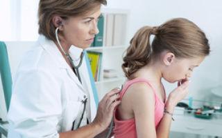 Причины и симптомы бронхита без температуры у ребёнка
