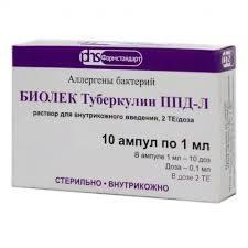 биолек туберкулин ппд-л